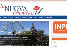 Sito web responsive per La Nuova Briantea